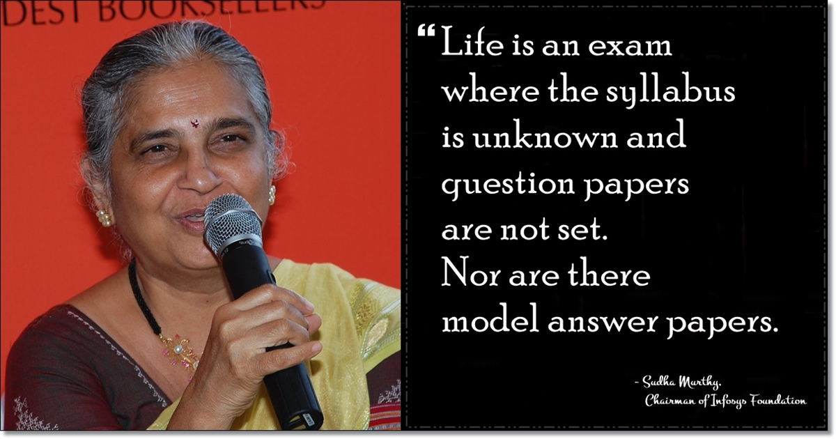 10 Inspiring Quotes By Sudha Murthy That Will Help You Understand